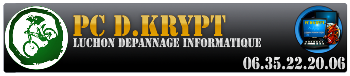 PC D.KRYPT - Luchon Depannage Informatique